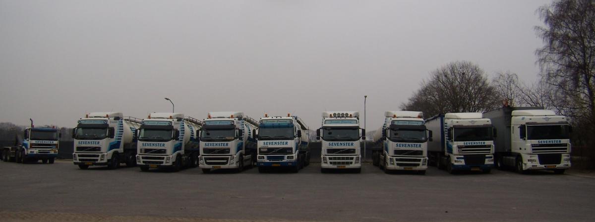 vrachtwagenpark